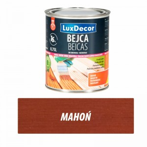 Luxdecor Bejca do drewna mahoń 750 ml