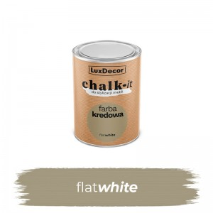Farba kredowa Chalk-it Flat White 125 ml