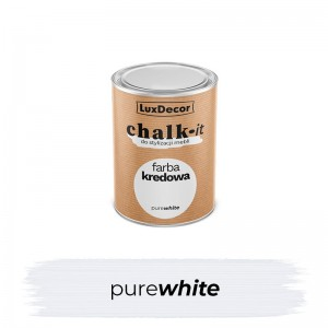 Farba kredowa Chalk-it Pure White 125 ml