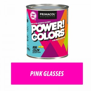 Farba Power!Colors Pink glasses 0,75 l