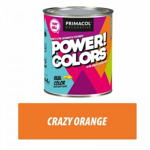 Farba Power!Colors Crazy orange 0,75 l