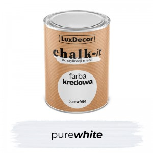 Farba kredowa Chalk-it Pure White 0,75 l