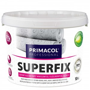 Klej do tapet Superfix 10 kg - gotowy